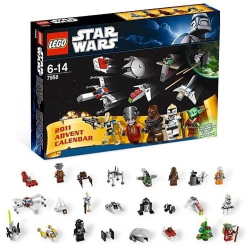LEGO Star Wars Advent Calendar eclectic-christmas-decorations