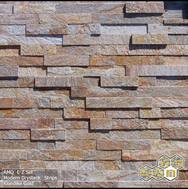 Modern Dry Stack 2 1 2 Strips Klondike Gold Stacked