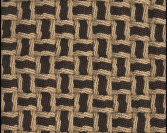 Natural Fiber Rugs & Carpets - Our Barbara Brown Fawn semi-worsted wool rug is self bound all around. It is offered in any size.  All rugs are made to order.  Please allow 12 - 16 weeks for delivery.  Purchase at Hemphill's Rugs & Carpets Orange County, California www.RugsAndCarpets.com