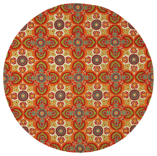 tara round rug traditional dining room boston by company c