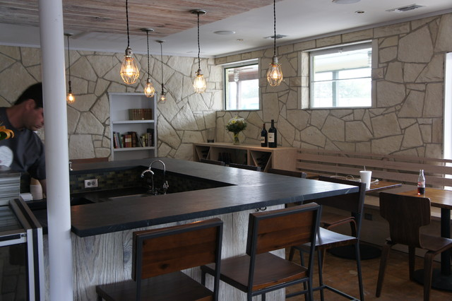 Dorado Soapstone Installed Around Town kitchen-countertops