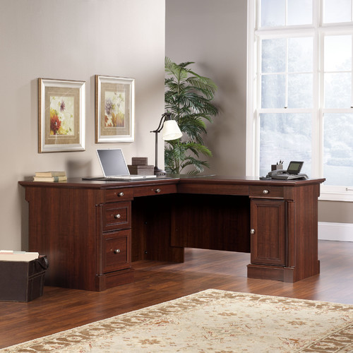 Simple  Office Desk With Locking DrawersSimple Office DeskOffice Furniture