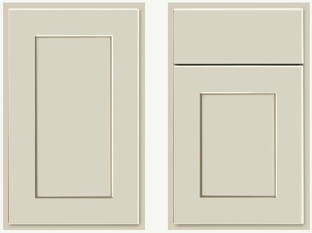 KraftMaid Willow Cabinet Door - Transitional - Kitchen Cabinetry - other metro - by KraftMaid