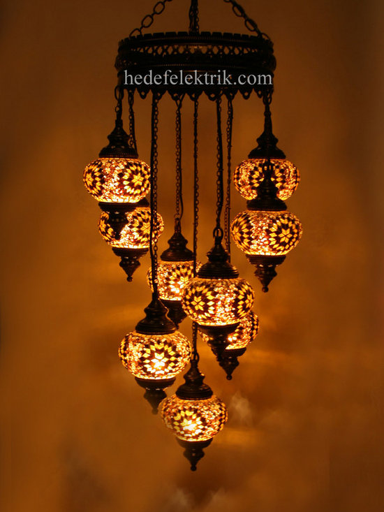 Turkish Style - Mosaic Lighting - Code:  HE-94527_65