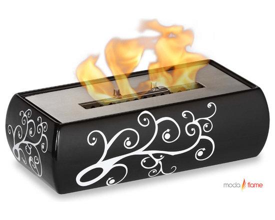Moda Flame Vitoria Table Top Ethanol Fireplace - Vitoria Table Top Ethanol Fireplace