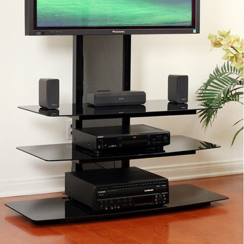 """Deco Entertainment 32""""-65"""" Plasma TV Stand - Modern - Entertainment Centers And Tv Stands"""