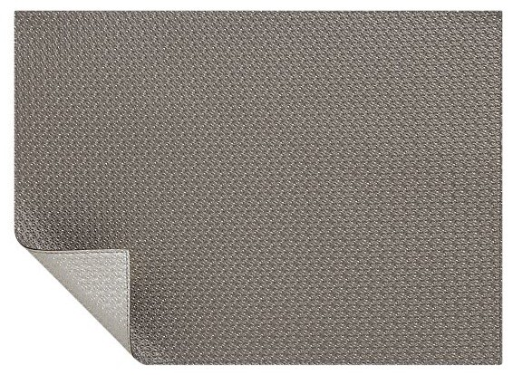 Bristol Warm Silver-Bronze Placemat modern table linens
