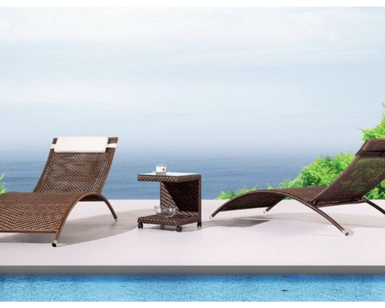 Havana Patio Chaise Lounge - This Havana patio chaise lounge will bring style and comfort to your outdoor decor.
