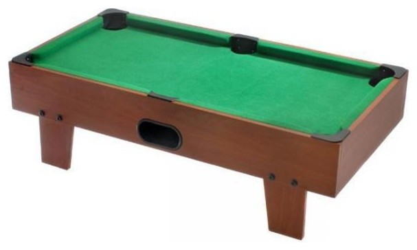 "32"" Table Top Billiards / Pool Game Table - traditional - kids"