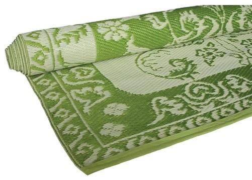 Classic Green Floormat modern-rugs