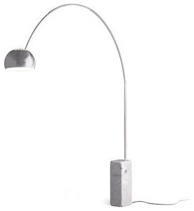 Arco Floor Lamp -  Room & Board modern floor lamps