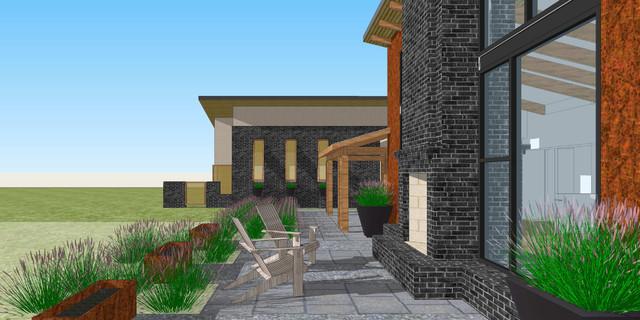 Goochland County Residence modern-rendering