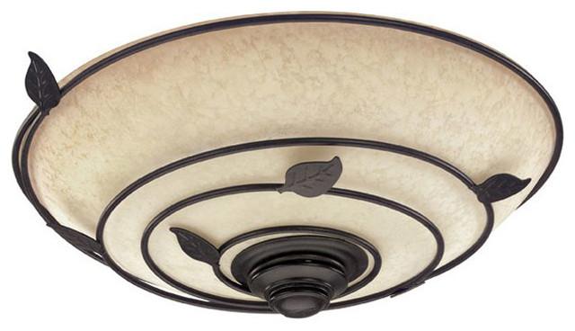 Hunter Organic Bathroom Fan With Light