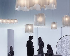 Logico Mini Single Suspension by Artemide at Lumens.com modern chandeliers