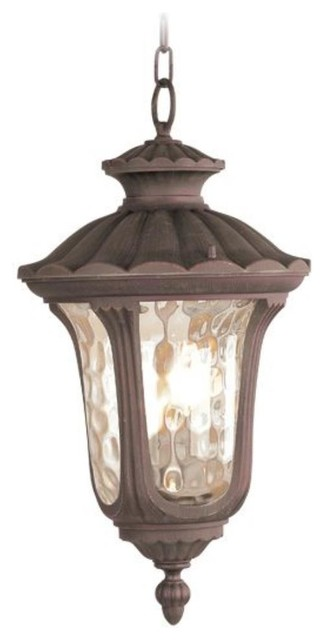 Livex Lighting-7658-Oxford - One Light Exterior Lantern traditional-outdoor-lighting