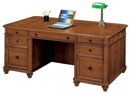 "Antigua 72"" W Executive Desk modern-home-office-accessories"