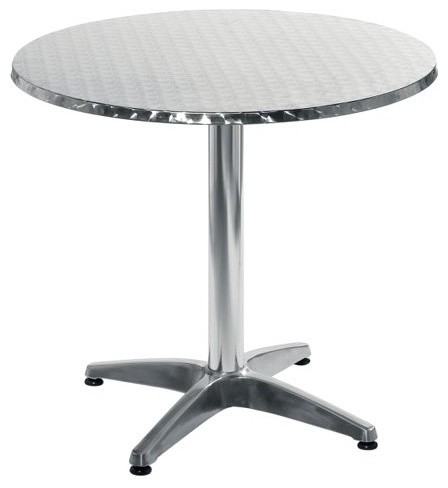 This Euro Style Allan Round Stainless Steel Dining Table is a classically dining contemporary-dining-tables