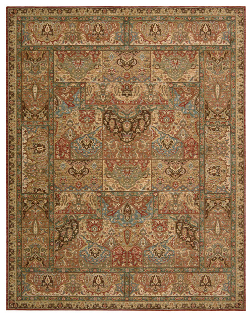 NOUR-67658 Nourison Living Treasures Area Rug Collection traditional-rugs