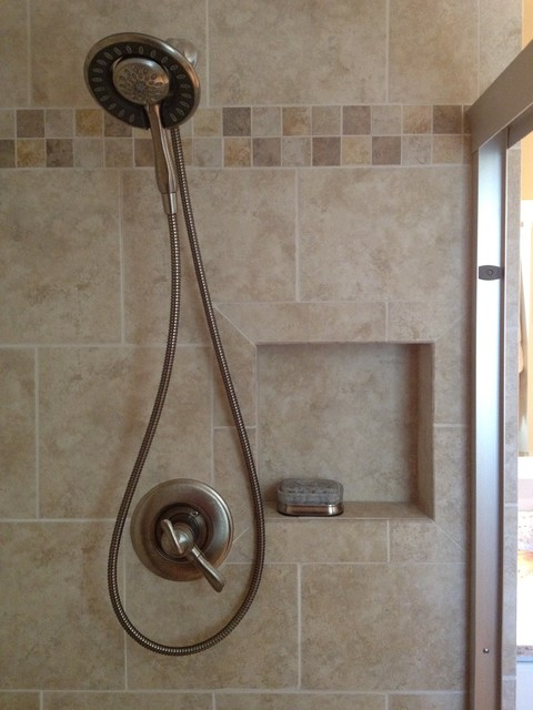 belvidere nj master bath contemporary bathroom tile