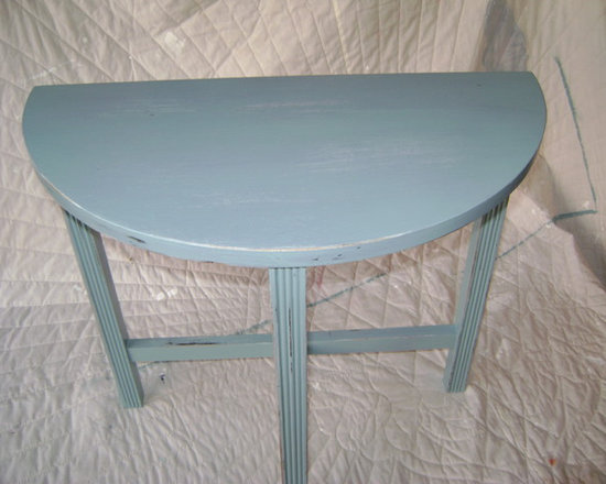 Up Cycling Furniture - Primed Painted and little distress!