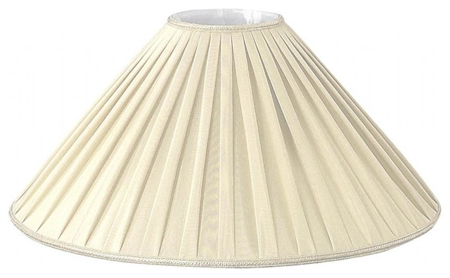 pleated coolie designer lampshade traditional lamp shades by. Black Bedroom Furniture Sets. Home Design Ideas
