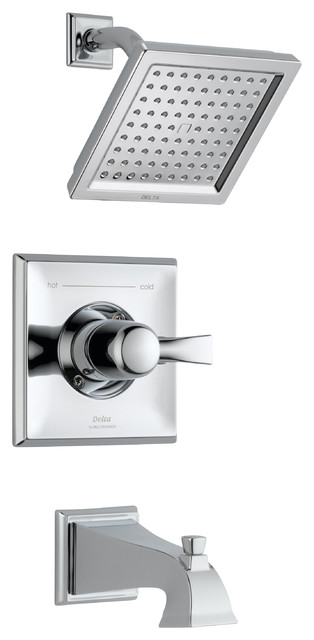 Dryden Monitor 14 Series Pressure Balance Tub and Shower Trim contemporary-tub-and-shower-faucet-sets