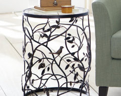 Bird Barrel Table - Grandin Road traditional side tables and accent tables