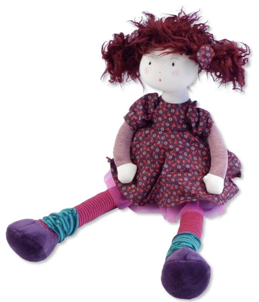 Moulin Roty Jeanne Rag Doll - Traditional - Kids Toys