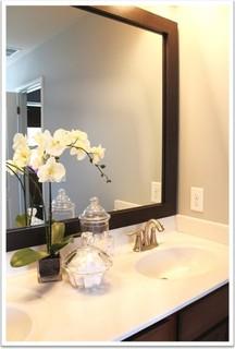 Mirrormate mirror frame kit bathroom mirrors charlotte Mirror frame kits for bathroom mirrors