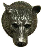Bear Head modern-cabinet-and-drawer-knobs