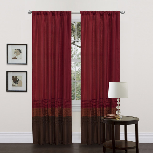 Hookless Fabric Shower Curtain With Snap Liner Navy and Tan Curtains