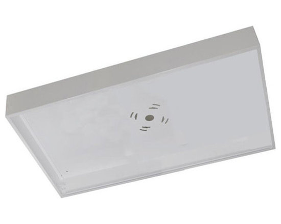 MaxLite - MLSMKFP24D Surface mount kit for 2'x4' Direct Lit LED Flat Panel - Use the Surface mount kit for 2'x4' Direct Lit LED Flat Panel to sleekly mount your overhead lights when recess mounting is not an option. This casing encloses and protects your lights, while sleekly integrating them into your ceiling.