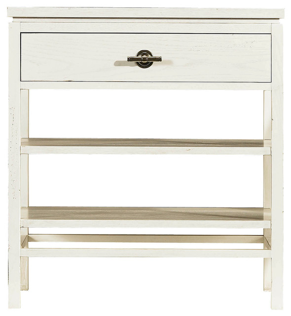 Coastal Living Resort Tranquility Isle Night Stand - Sail Cloth Finish beach-style-nightstands-and-bedside-tables