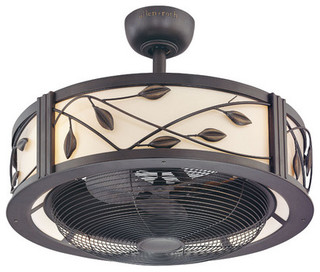 Harbor Breeze Eastview Aged Bronze Ceiling Fan - Traditional - Ceiling Fans - by Lowe's
