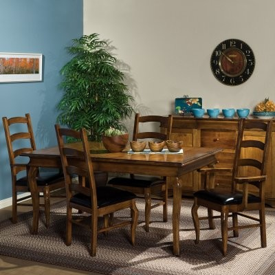 Paris Amish 5 piece Dining Table Set traditional-dining-sets