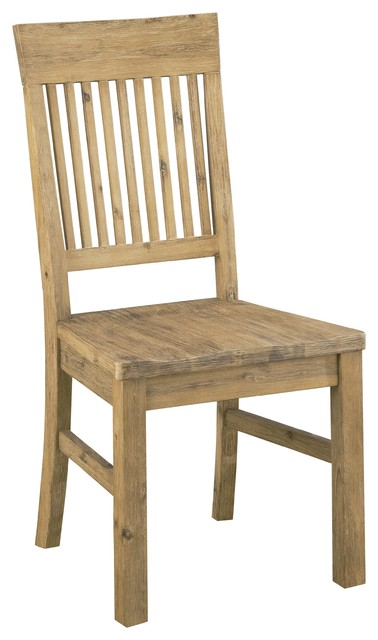 Autumn Solid Wood Dining Chairs Set of 2 Farmhouse Dining Chairs by Mo