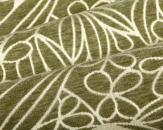 In the Garden Outdoor Fabric in Sage Green - In the Garden Outdoor Fabric in Sage Green is a floral jacquard upholstery fabric perfect for patio furniture or high traffic indoor areas. Bright and fun, the floral design has an interesting relief/textured effect due to the chenille yarn.American made with 100% Sunbrella Acrylic and with a width of 54″. The vertical repeat is 10 3/4″, horizontal repeat is 13 1/2″.