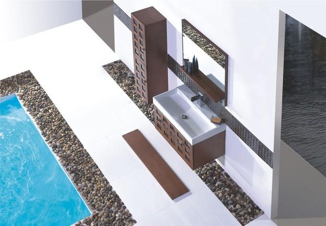 """Vizini Modern Bathroom Vanity Set 29.5"""" modern-bathroom-vanities-and-sink-consoles"""
