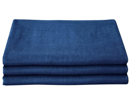 bailanmu - Sea Blue Gauze Towel, Bath Towel - Luxurious towel with a sustainable soul. Beautiful indigo shade blue, affectionately called Sea Blue. One side is a soft, woven gauze while the other, a familiar, equally soft knit terry cloth. Reversible in use, depending on your mood. Travel friendly, great for yoga and the gym, as well as beach towel!