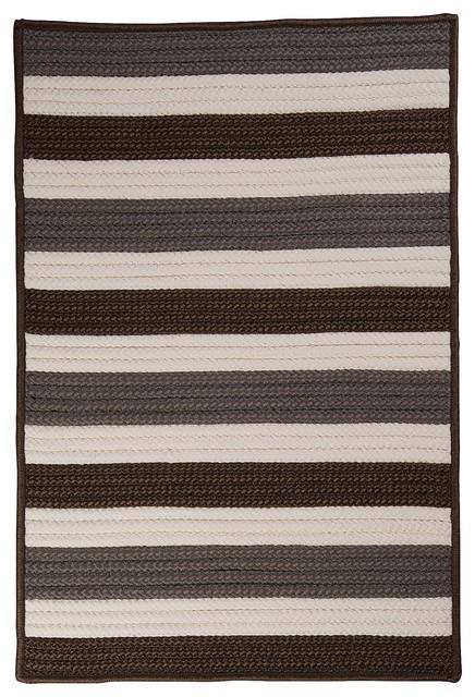 Indoor/Outdoor Portico, Stone Rug, 2'X6' contemporary-outdoor-rugs