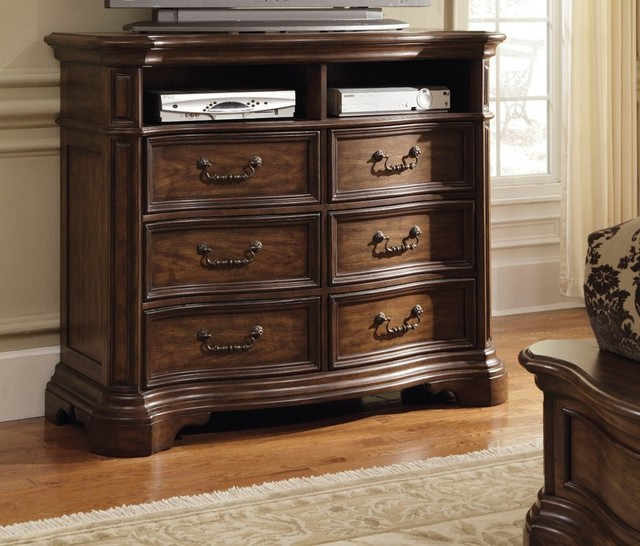 PULASKI Furniture - Courtland Media Chest - 504145 traditional-entertainment-centers-and-tv-stands