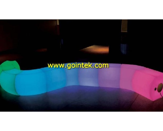 lighting bench for party -