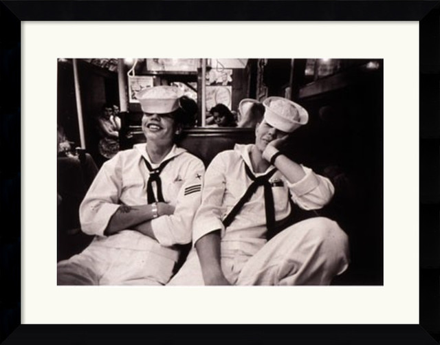 Floppy Sailors Framed Print by Harold Feinstein traditional-prints-and-posters