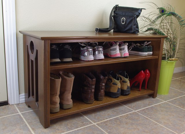 Mac Shoe/Boot Storage Bench contemporary-accent-and-storage-benches