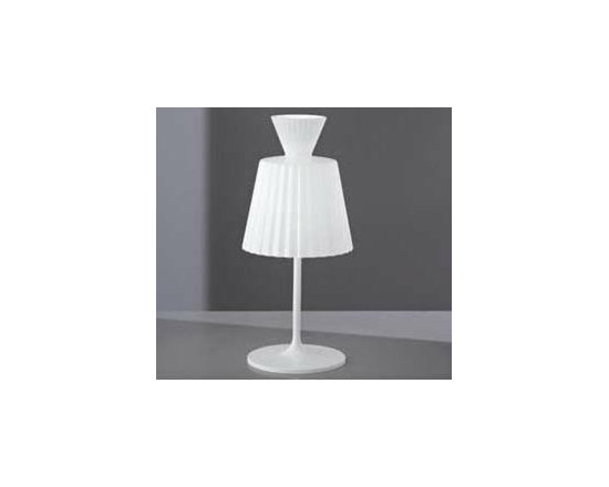 Katerina T Table Lamp By Leucos Lighting - Katerina T22 from Leucos is a new series of pendant, table and wall fixtures.
