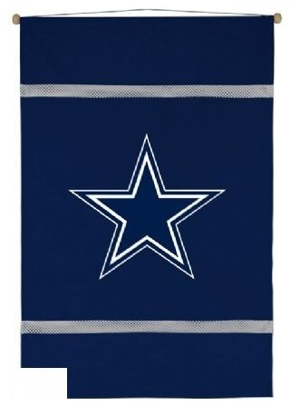 Dallas Cowboys Nfl Mvp Micro Suede Wall Hanging Game
