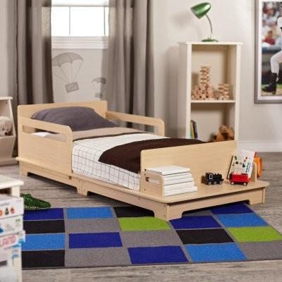 KidKraft Modern Toddler Bed modern-kids-beds