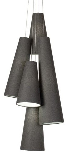 Spire Multi-Point Chandelier contemporary-pendant-lighting