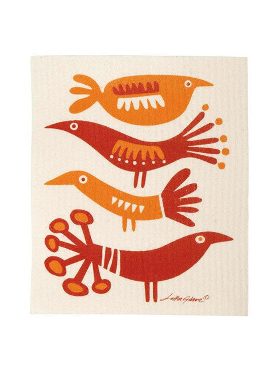 Klippan Bird Dishcloths, Set of 2 -