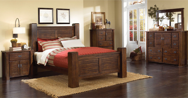 progressive 6 piece queen bedroom set